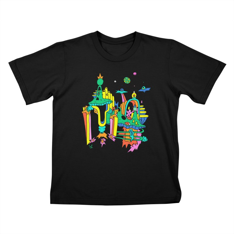 City of Color Kids T-Shirt by Shelby Works