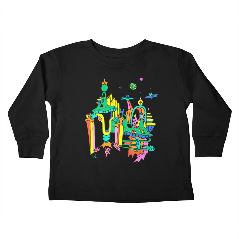 City of Color Kids Toddler Longsleeve T-Shirt by Shelby Works