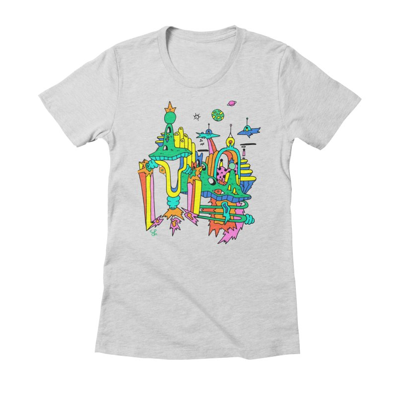 City of Color Women's Fitted T-Shirt by Shelby Works