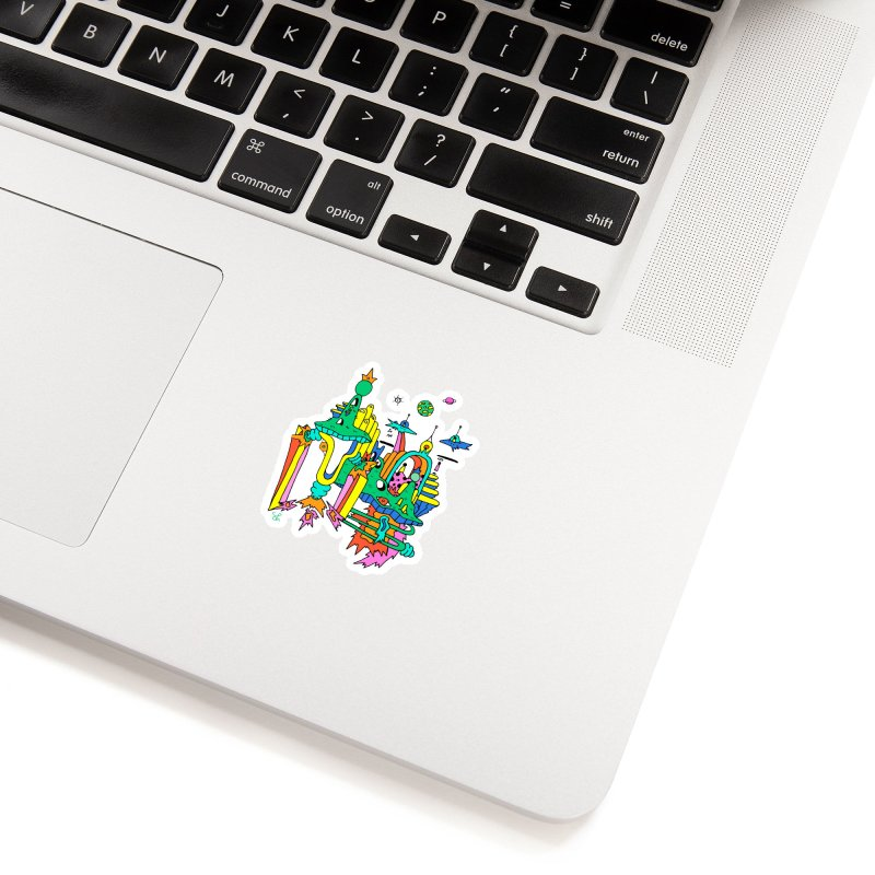 City of Color Accessories Sticker by Shelby Works