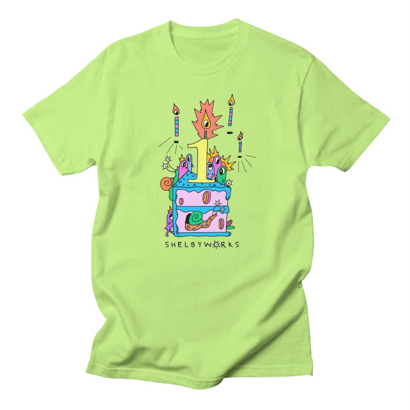 Shelby Work's 1st Birthday Men's Regular T-Shirt by Shelby Works