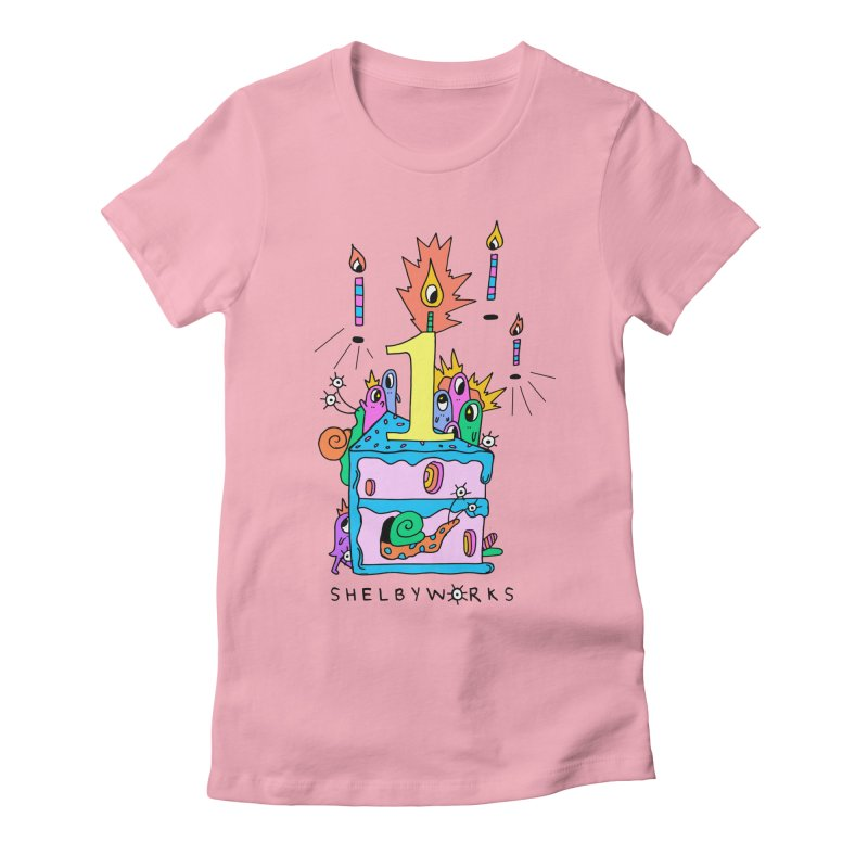 Shelby Work's 1st Birthday Women's Fitted T-Shirt by Shelby Works