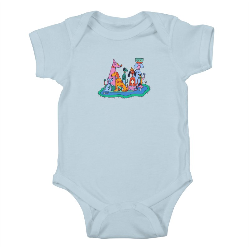 Picture Day Kids Baby Bodysuit by Shelby Works