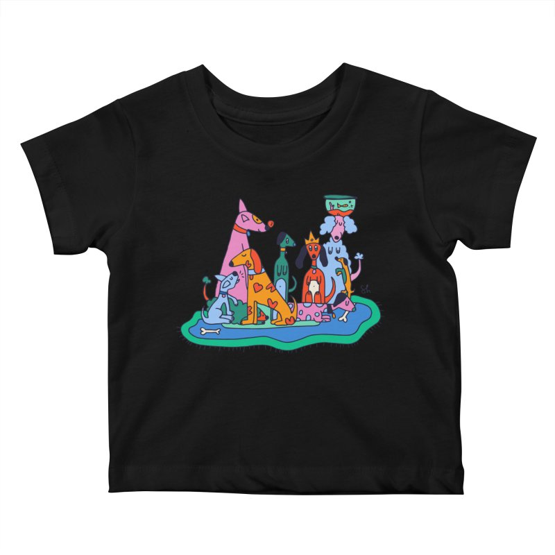 Picture Day Kids Baby T-Shirt by Shelby Works