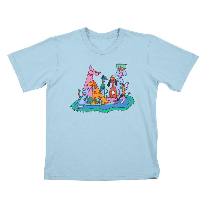 Picture Day Kids T-Shirt by Shelby Works
