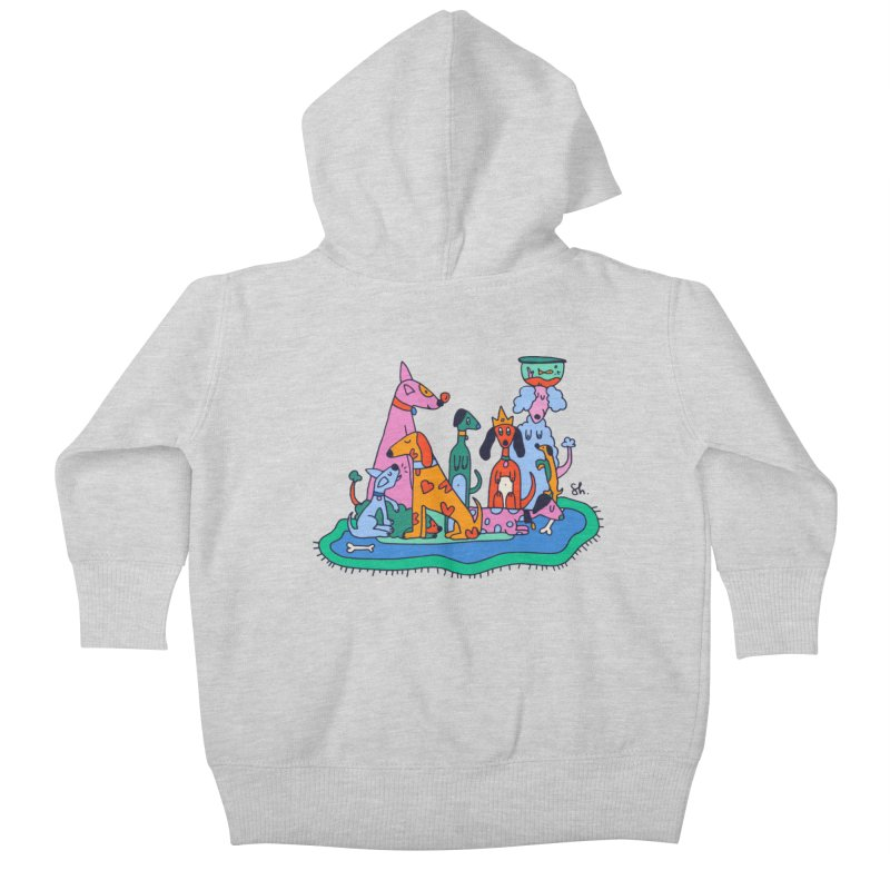 Picture Day Kids Baby Zip-Up Hoody by Shelby Works