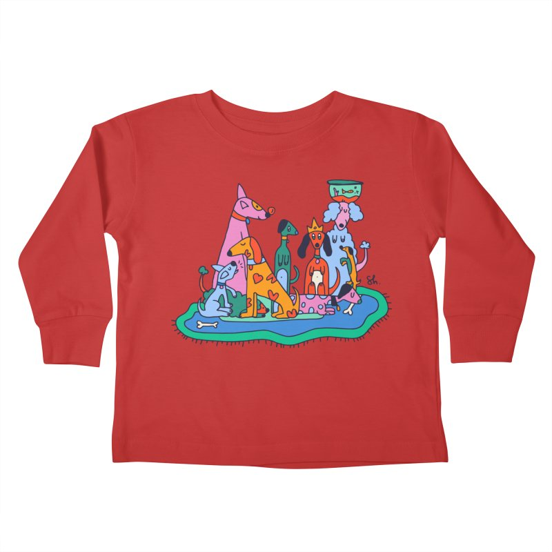 Picture Day Kids Toddler Longsleeve T-Shirt by Shelby Works