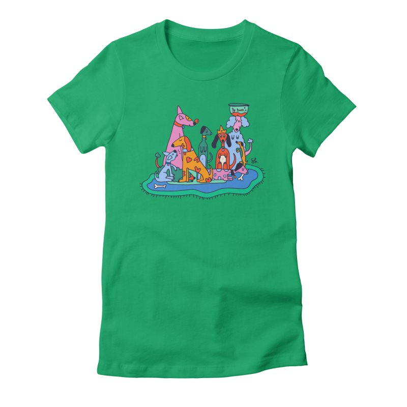 Picture Day Women's Fitted T-Shirt by Shelby Works