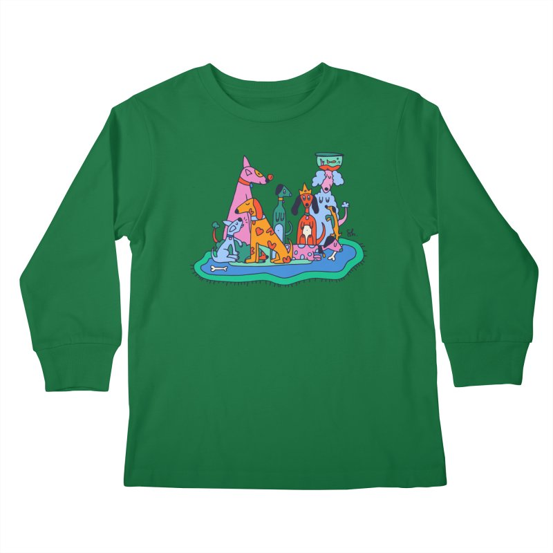 Picture Day Kids Longsleeve T-Shirt by Shelby Works