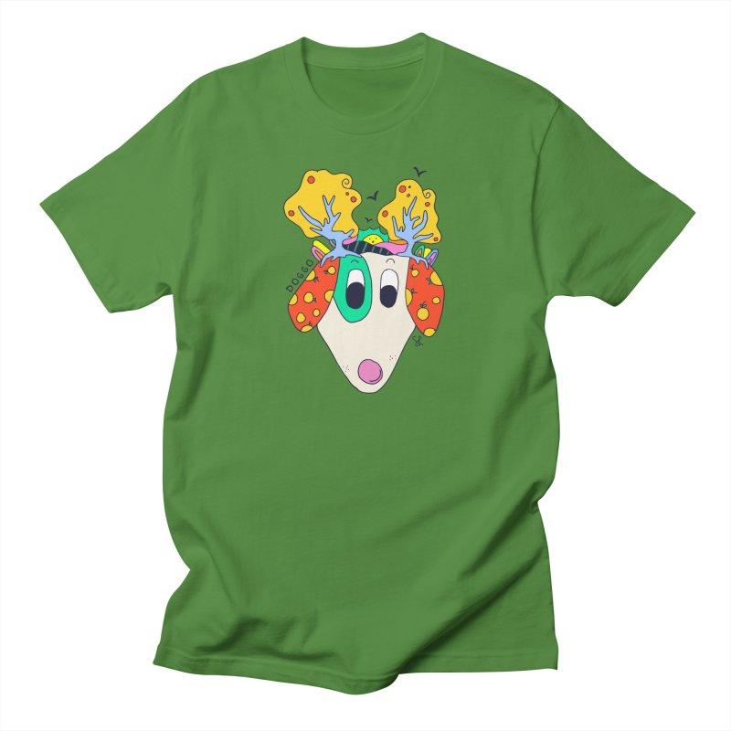 Doggo's Garden Men's Regular T-Shirt by Shelby Works