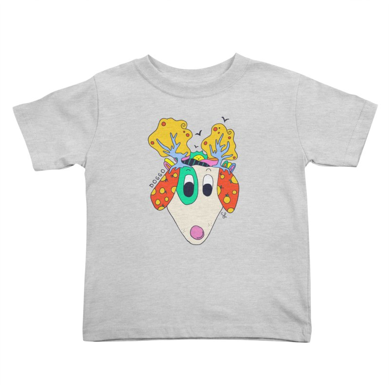 Doggo's Garden Kids Toddler T-Shirt by Shelby Works