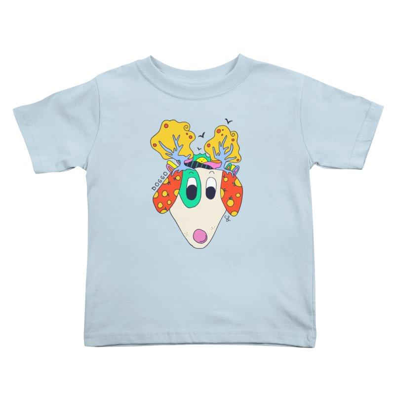 Doggo's Garden Kids Toddler T-Shirt by Shelby Works