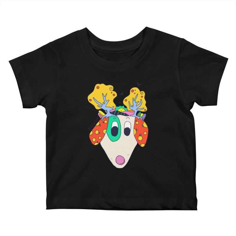 Doggo's Garden Kids Baby T-Shirt by Shelby Works