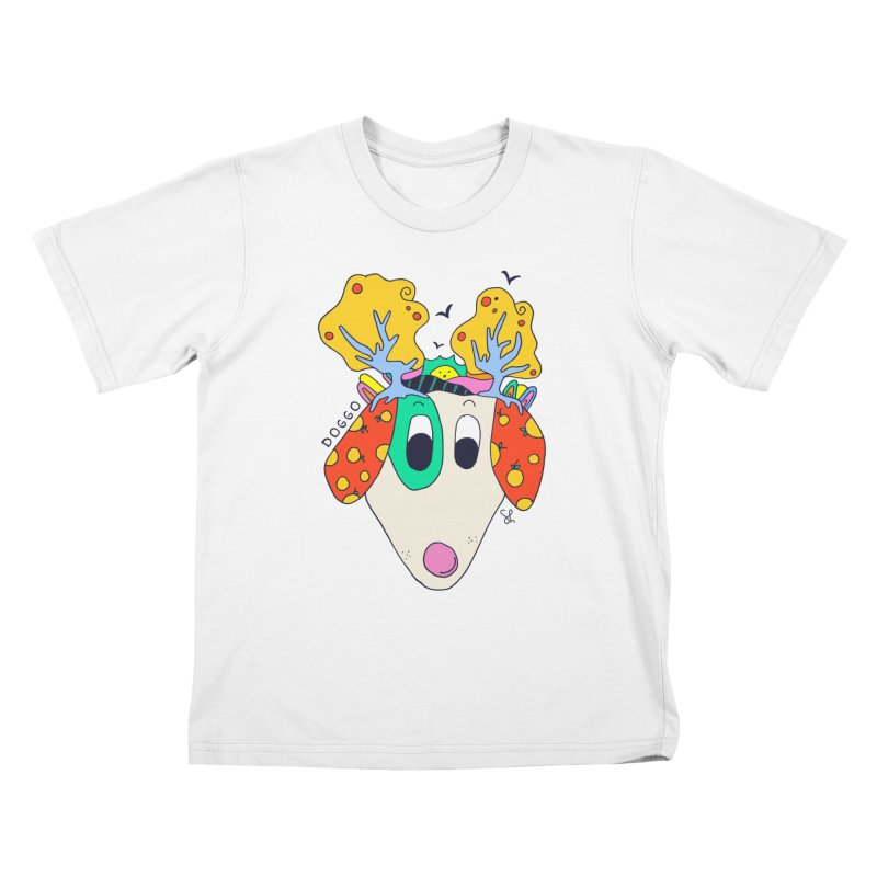 Doggo's Garden Kids T-Shirt by Shelby Works