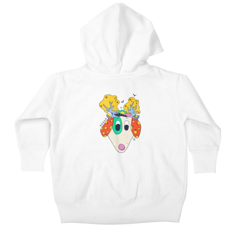 Doggo's Garden Kids Baby Zip-Up Hoody by Shelby Works