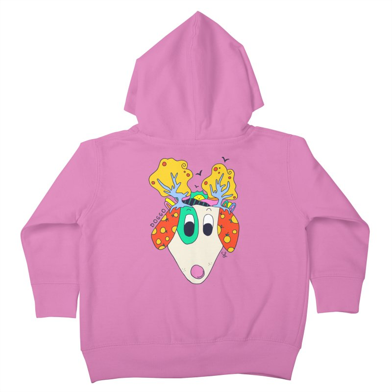 Doggo's Garden Kids Toddler Zip-Up Hoody by Shelby Works