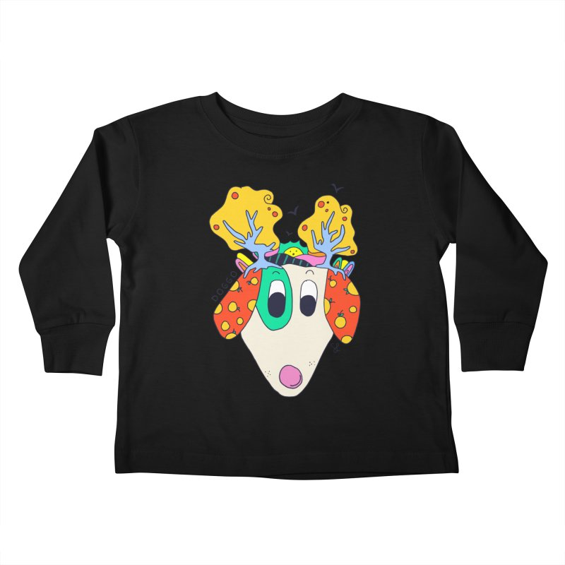 Doggo's Garden Kids Toddler Longsleeve T-Shirt by Shelby Works
