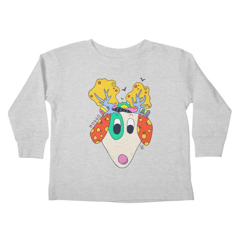 Doggo's Garden Kids Toddler Longsleeve T-Shirt by Shelby Works