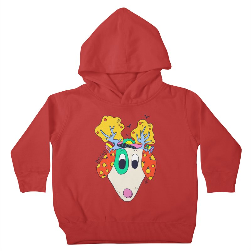 Doggo's Garden Kids Toddler Pullover Hoody by Shelby Works
