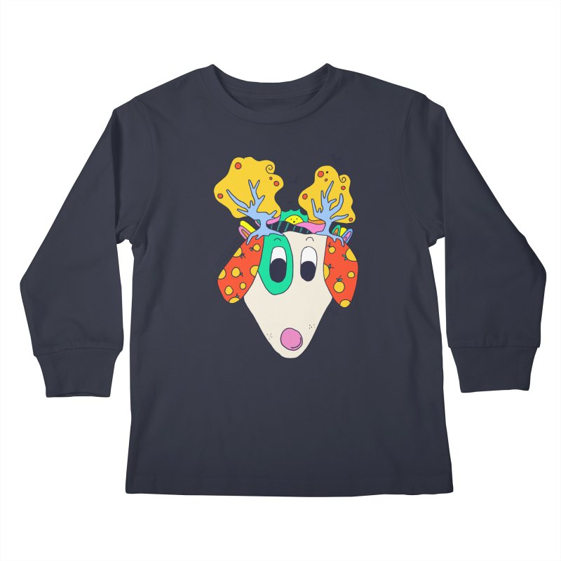Doggo's Garden Kids Longsleeve T-Shirt by Shelby Works