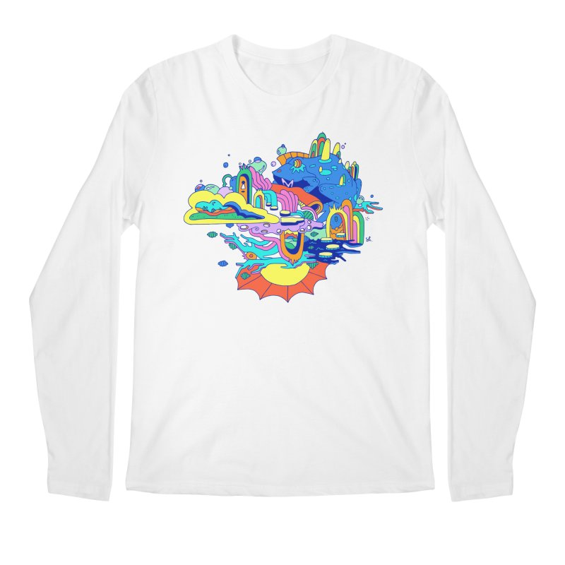 Frog's Palace Men's Regular Longsleeve T-Shirt by Shelby Works