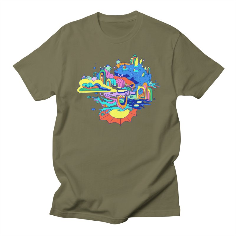 Frog's Palace Men's Regular T-Shirt by Shelby Works