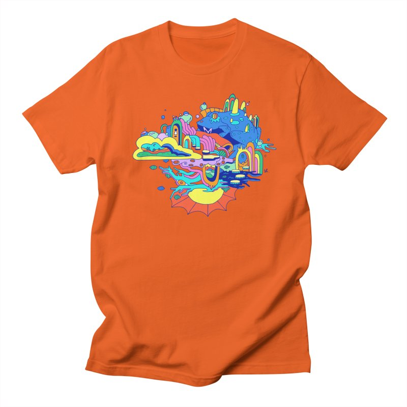 Frog's Palace Women's Regular Unisex T-Shirt by Shelby Works