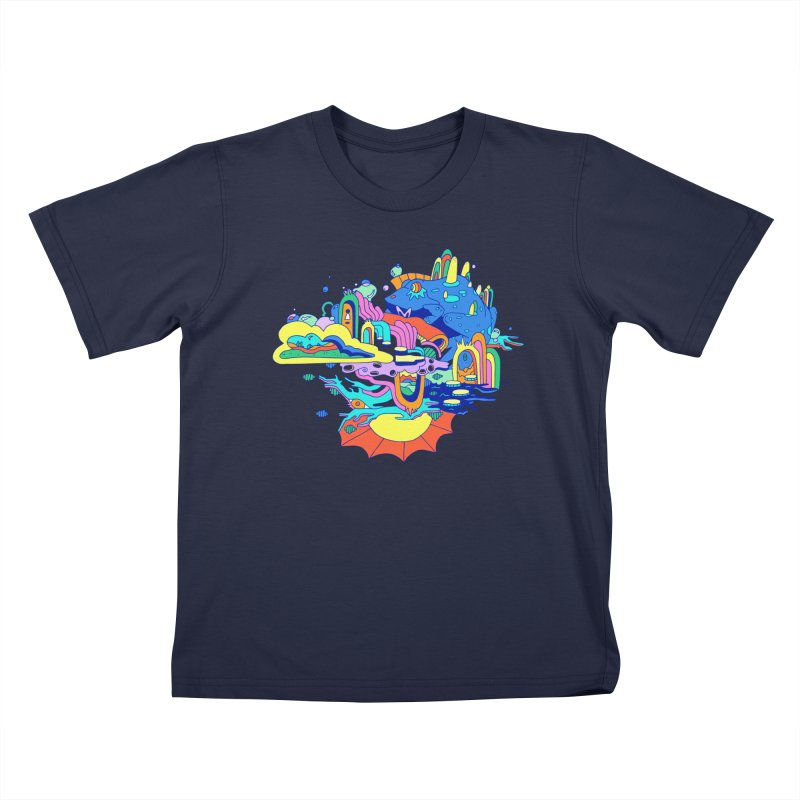 Frog's Palace Kids T-Shirt by Shelby Works