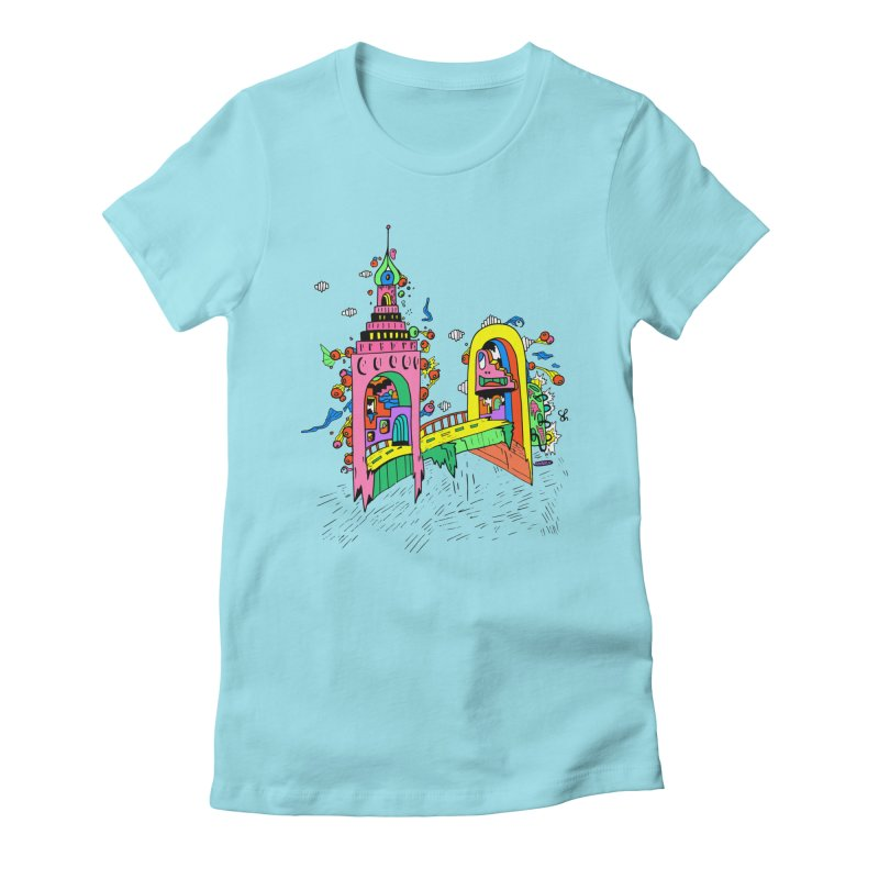 Video Game Women's Fitted T-Shirt by Shelby Works