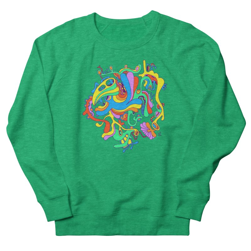Lyrical Men's French Terry Sweatshirt by Shelby Works