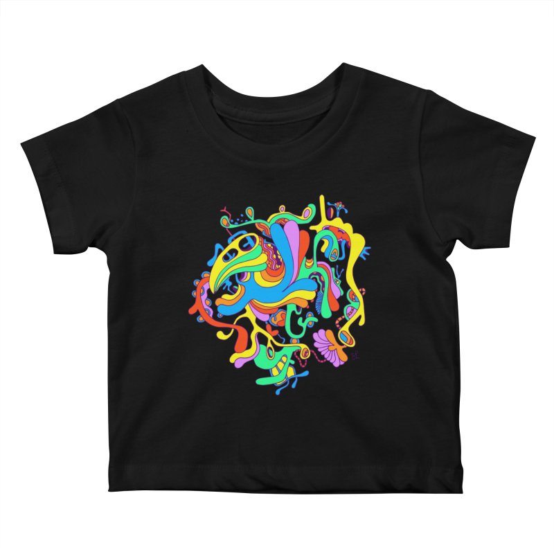 Lyrical Kids Baby T-Shirt by Shelby Works