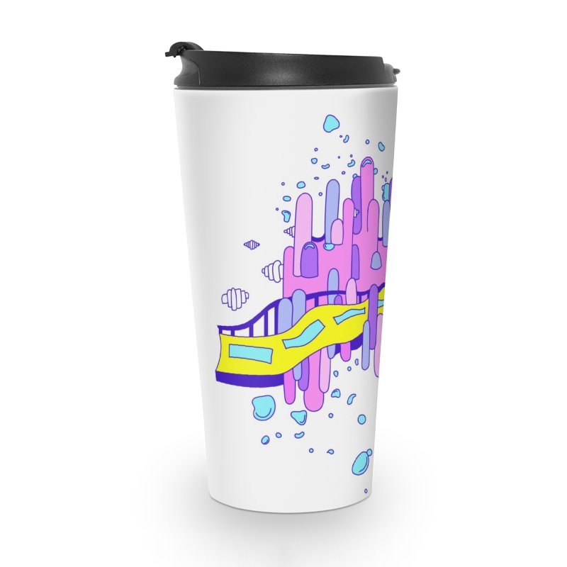Phoebe the Flying Car Accessories Travel Mug by Shelby Works