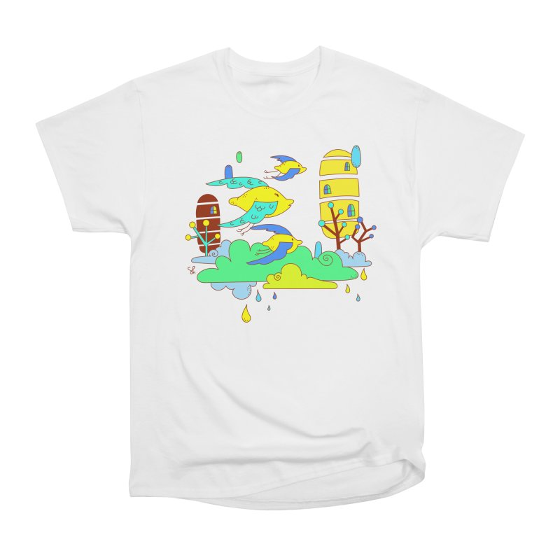 A Lemon Twist Women's Heavyweight Unisex T-Shirt by Shelby Works