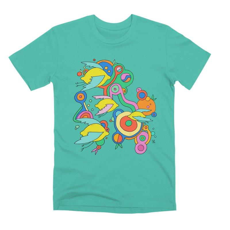 Lemon Soda Men's Premium T-Shirt by Shelby Works