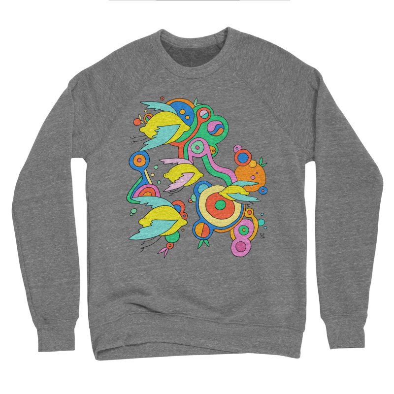 Lemon Soda Men's Sweatshirt by Shelby Works