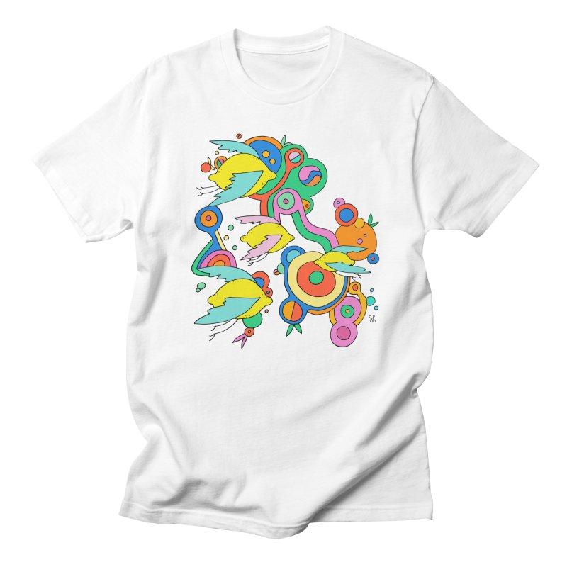 Lemon Soda Men's T-Shirt by Shelby Works