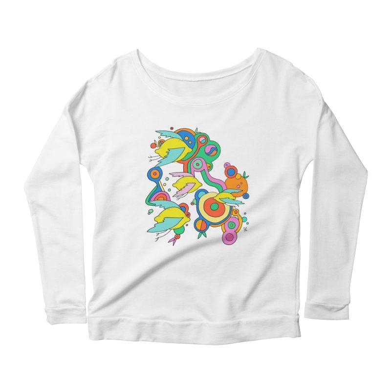 Lemon Soda Women's Scoop Neck Longsleeve T-Shirt by Shelby Works