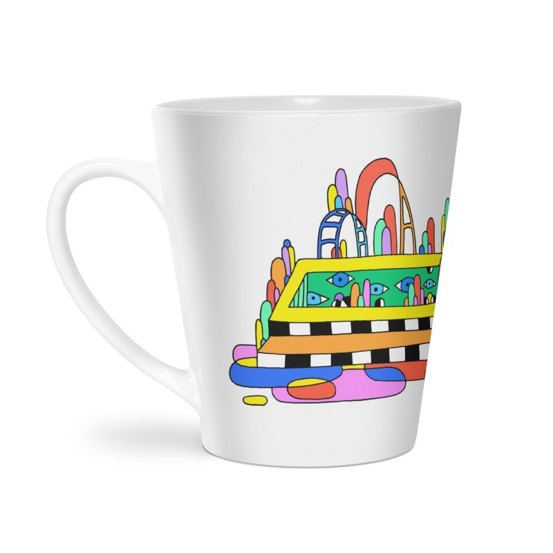 Pool of Visions Accessories Latte Mug by Shelby Works