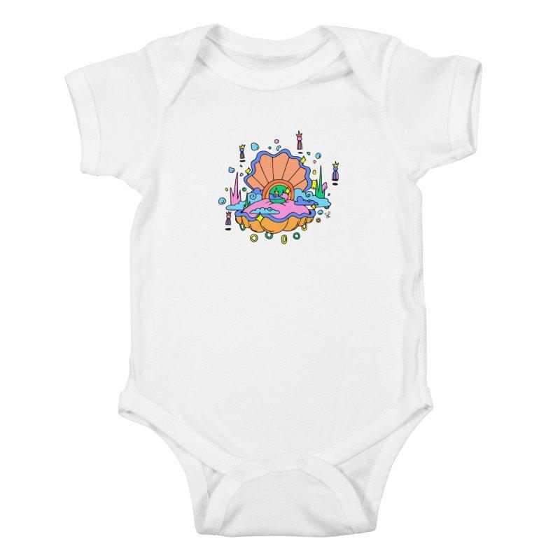 Atlantis Kids Baby Bodysuit by Shelby Works
