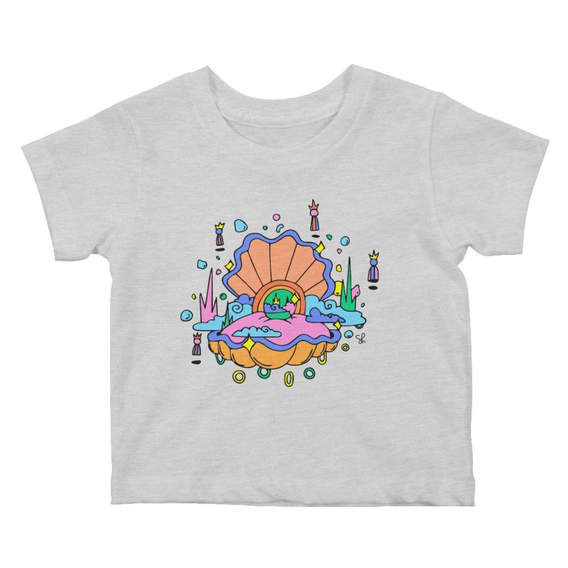 Atlantis Kids Baby T-Shirt by Shelby Works