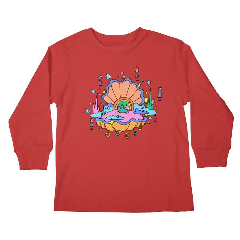 Atlantis Kids Longsleeve T-Shirt by Shelby Works