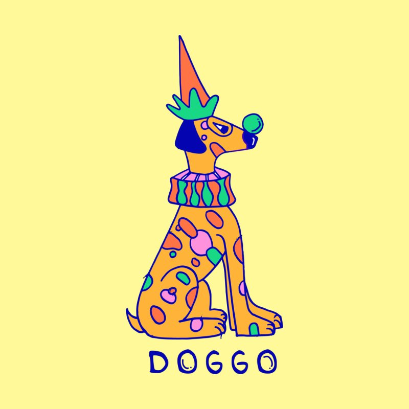 Doggo in Color by Shelby Works