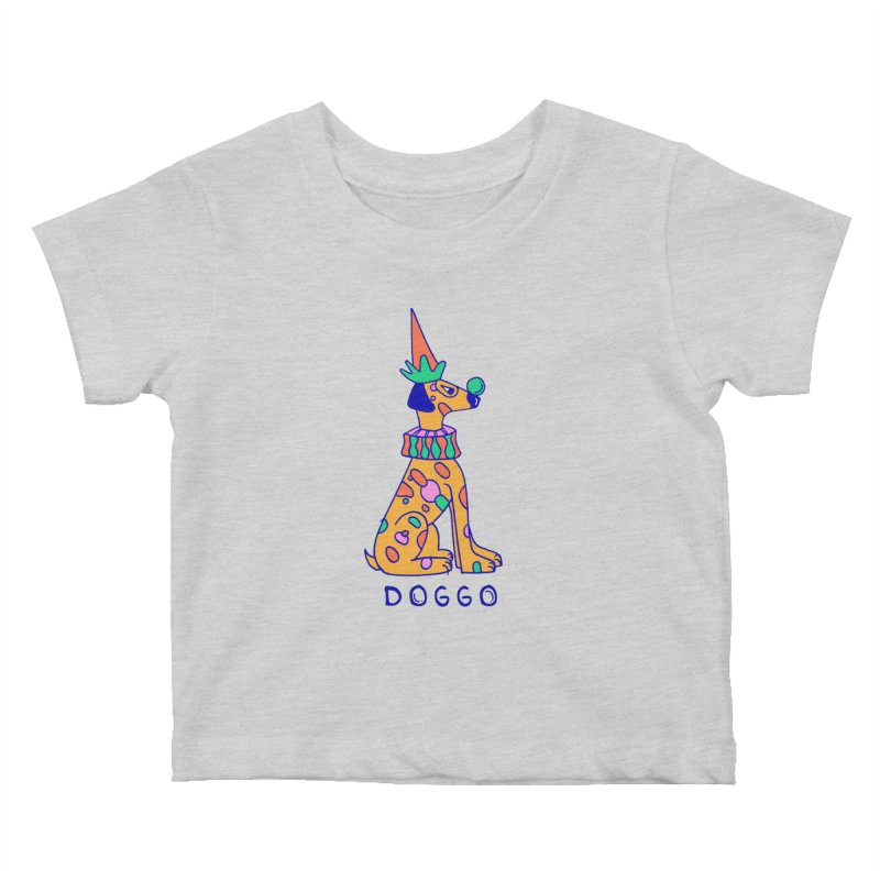 Doggo in Color Kids Baby T-Shirt by Shelby Works