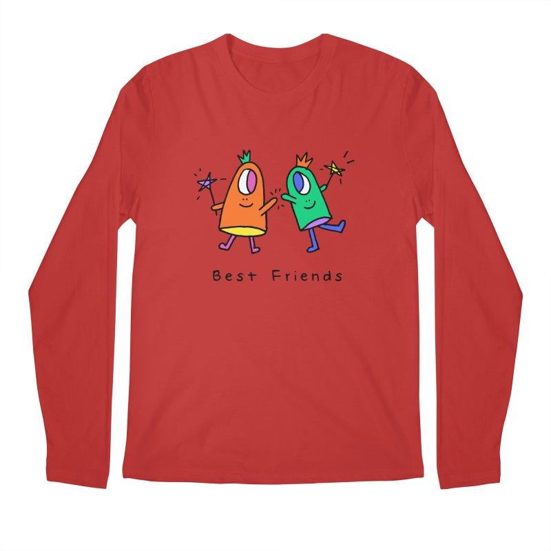 Best Friends Men's Regular Longsleeve T-Shirt by Shelby Works