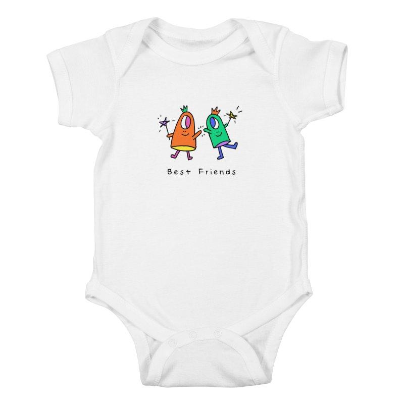 Best Friends Kids Baby Bodysuit by Shelby Works