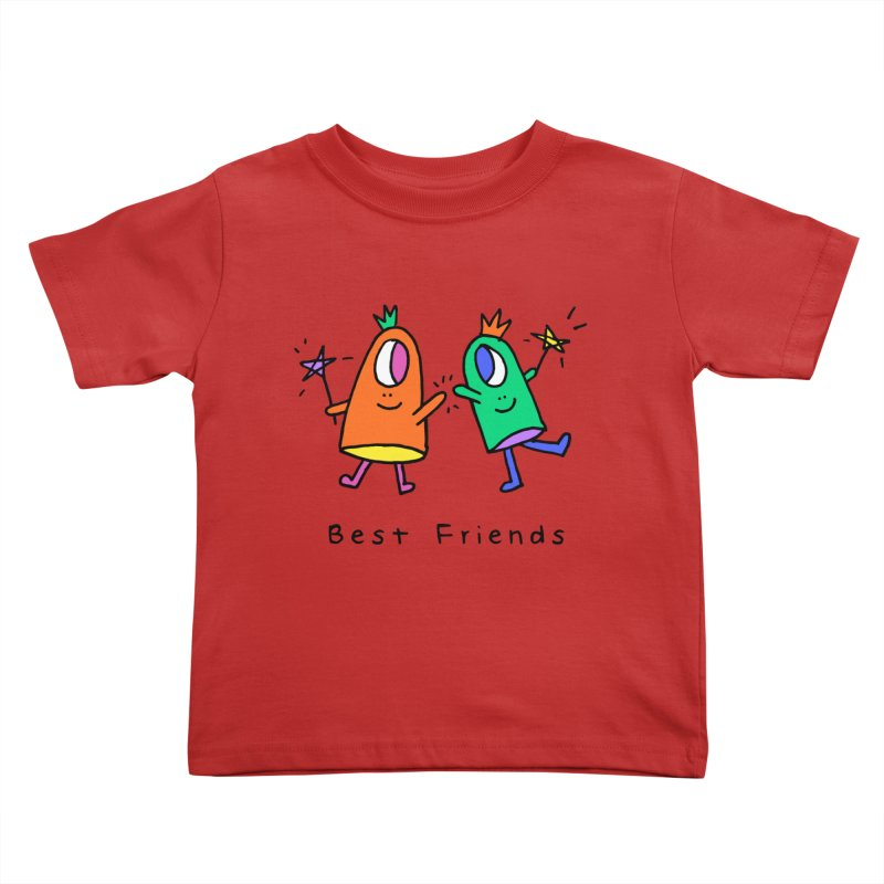 Best Friends Kids Toddler T-Shirt by Shelby Works