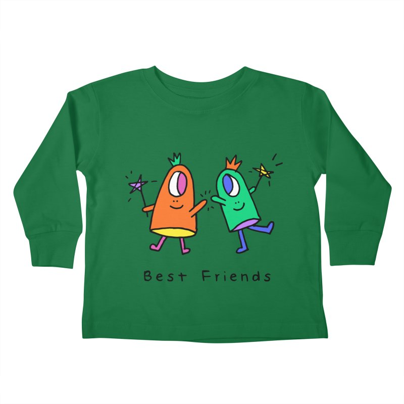Best Friends Kids Toddler Longsleeve T-Shirt by Shelby Works