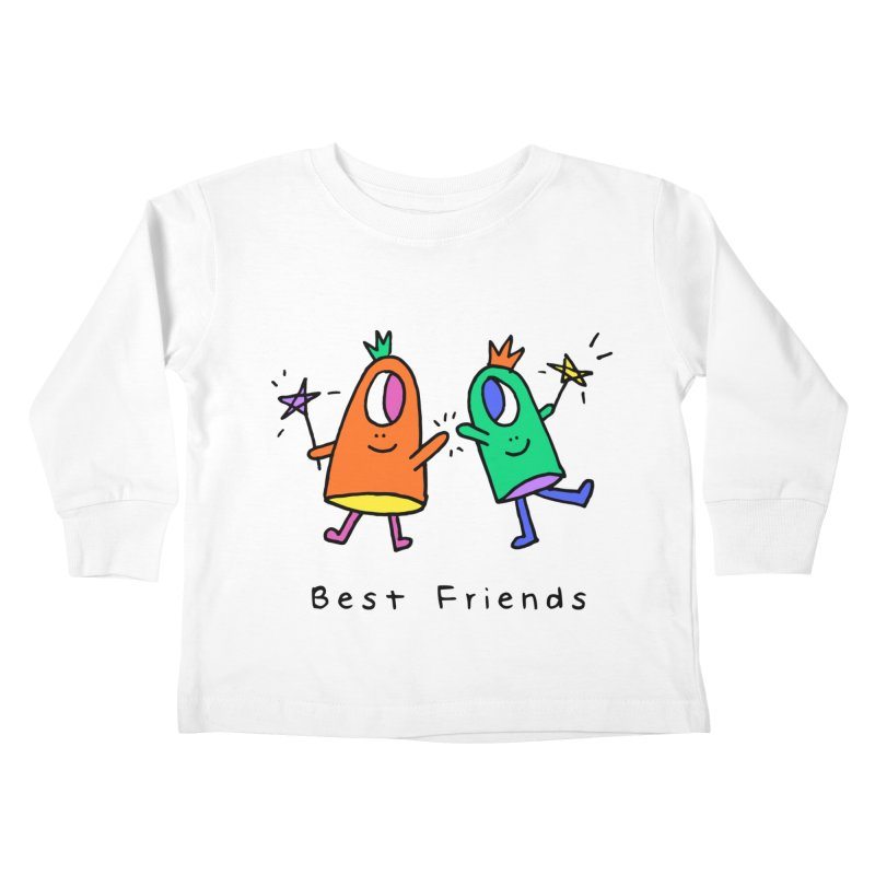 Best Friends Kids Toddler Longsleeve T-Shirt by Shelby Works