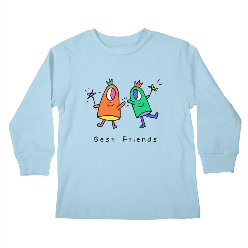 Best Friends Kids Longsleeve T-Shirt by Shelby Works