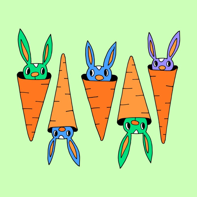 Carrot Friends by Shelby Works